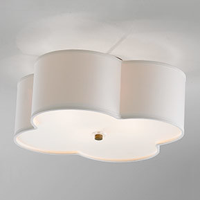 Flush mount chandeliers low and 8 foot ceilings shades of light drum shade ceiling lights aloadofball Gallery