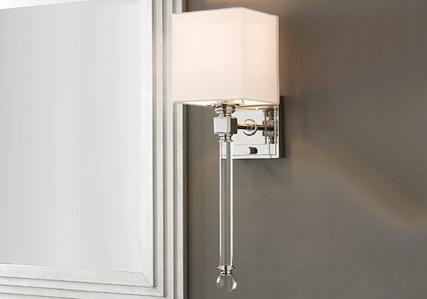 Crystal & Glass Sconces