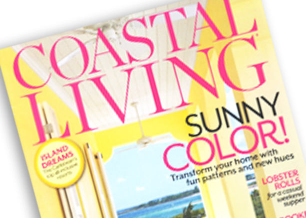 Coastal Living March 2013