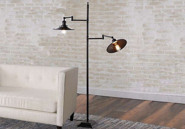 Floor Lamps | Standing & Tall Lamps - Shades of Light