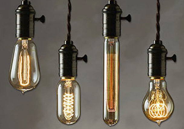 Vintage Edison Light Bulbs