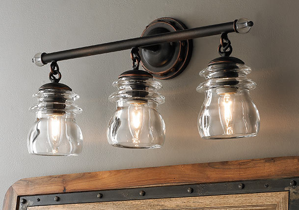 Farmhouse Style Vanity Lights : Bathroom & Vanity Lighting Distinguish Your Style - Shades of Light