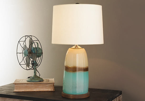 Nautical, Beach & Coastal Table Lamps