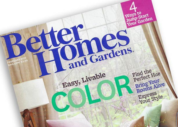 Better Homes and Gardens February 2013