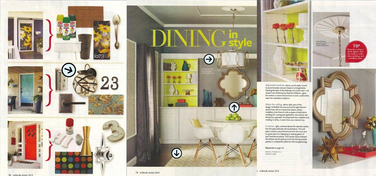 Better Home And Garden real life decorating better homes and gardens home Better Homes And Gardens Special Interest Publication Refresh Featured A Collection Of Great Shades Of Light Products From Ceiling To Floor