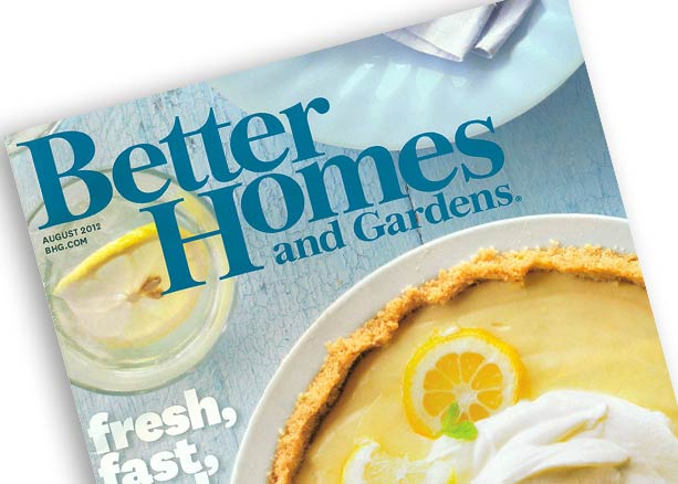 Better Homes and Gardens August 2012