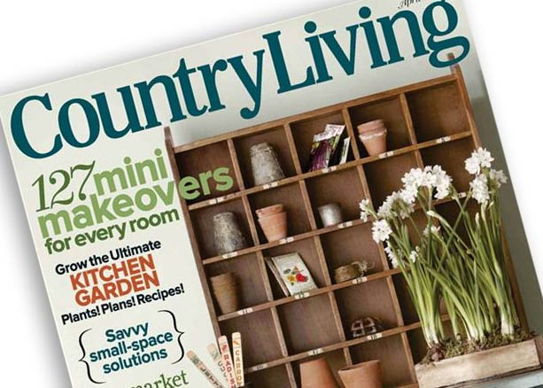 Country Living April 2012