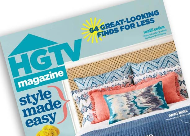 HGTV Magazine April 2016