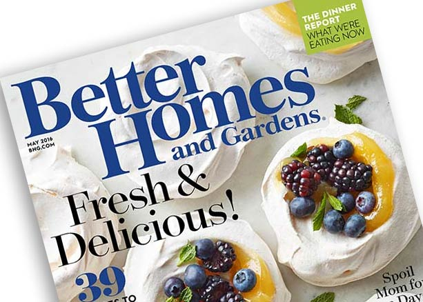 Better Homes and Gardens May 2016