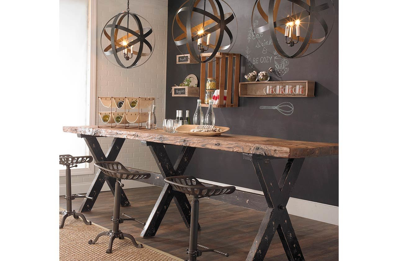 Industrial Rustic Kitchen