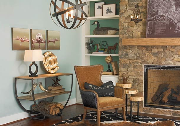 Rustic Style Lighting, Rugs & Home Decor