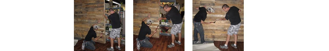 Building Pallet Wall