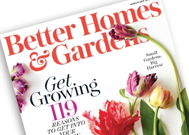 Better Homes and Gardens March 2017