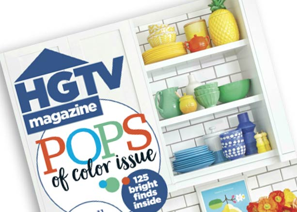 HGTV Magazine May 2017