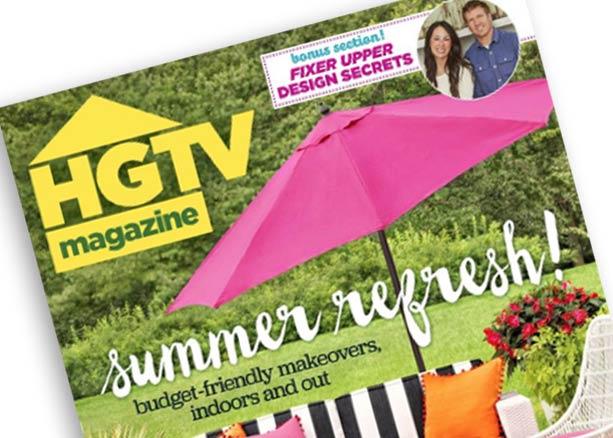 HGTV Magazine July 2016