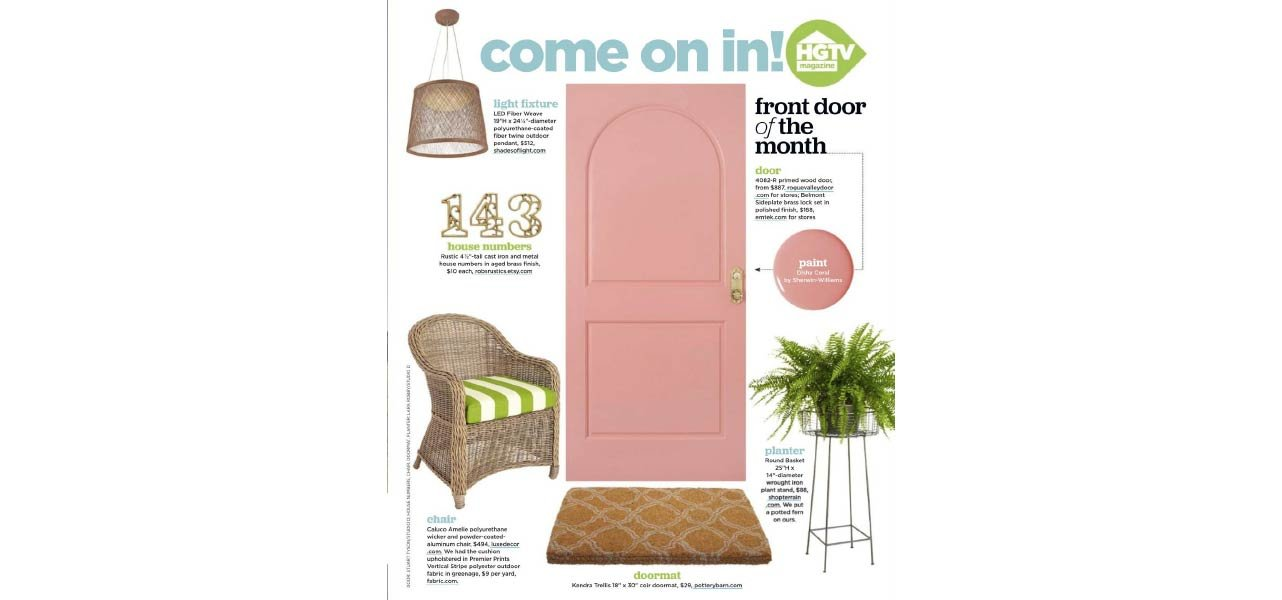 HGTV Magazine July 2016