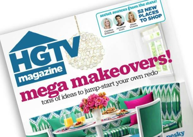 HGTV Magazine September 2016