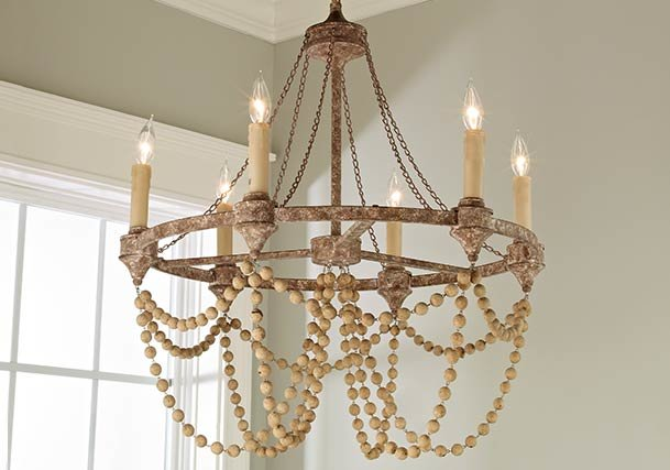 Antique and Vintage Inspired Chandeliers