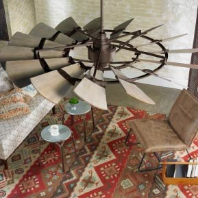 Industrial Chic Ceiling Fans