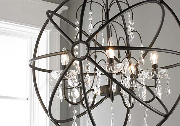 Chandelier lighting distinguish your style shades of light crystal chandeliers aloadofball Choice Image