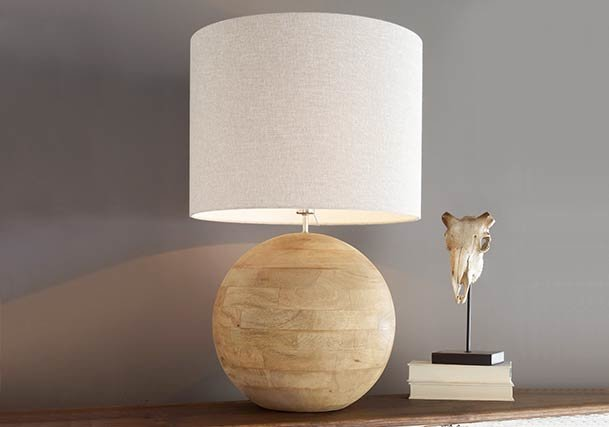 Table lamps distinguish your style shades of light rustic table lamps aloadofball Images