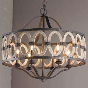 Rustic and Farmhouse Chandeliers