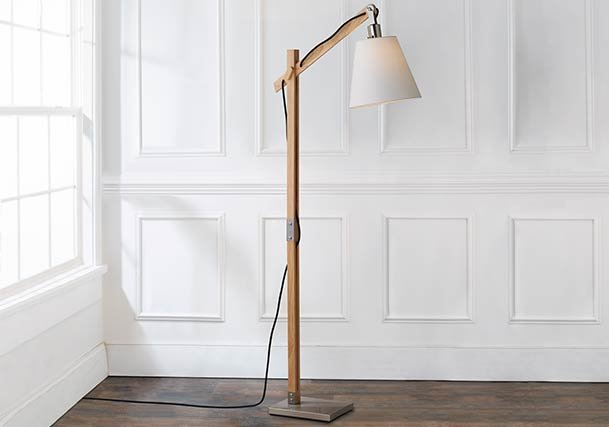 Industrial and Rustic Farmhouse Floor Lamps