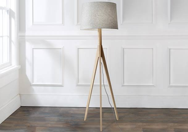 Floor lamps standing tall lamps shades of light modern contemporary floor lamps aloadofball Image collections