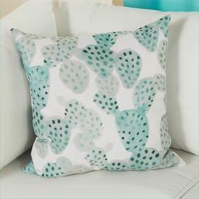 Outdoor Pillows & Poufs