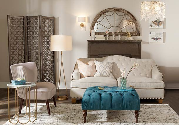 Traditional Style Lighting, Rugs & Home Decor