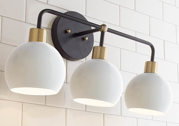 Bathroom Lighting Light Fixtures Shades Of