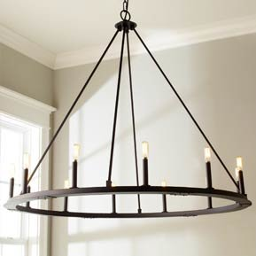 Rustic & Farmhouse Chandelier Lighting