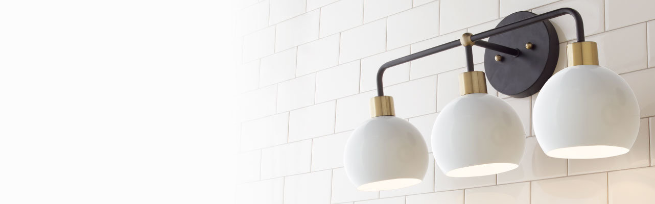 Bathroom Lighting Light Fixtures Shades Of