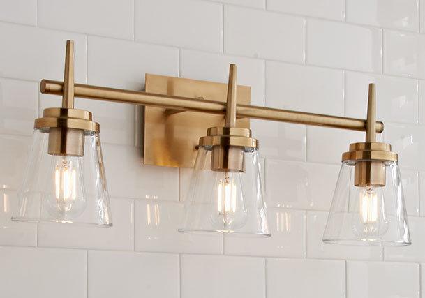 official photos 3e3ea 76227 Bathroom Lighting | Bathroom Light Fixtures - Shades of Light