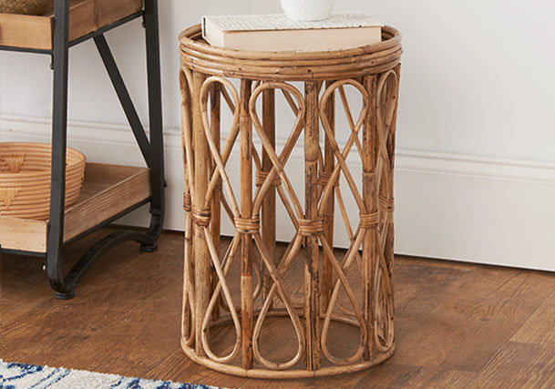 Natural Wood Accent Furniture