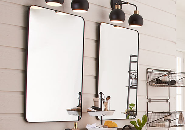 Where to Hang Mirrors: Ideas by Room