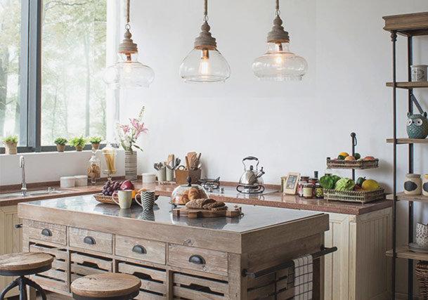 Pendant Lighting Ideas for Kitchen Islands