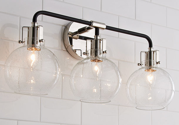 Bathroom Lighting Bathroom Light Fixtures Shades Of Light